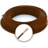 Cable MKH 4 (H07V-K) Sodrott erezetű Réz Vezeték - Barna
