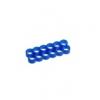 E22 , 12-slot kábelrendezõ kék 4 mm vastag kábelhez