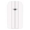 MiniCooper univerzális álló bőrtok fehér (MNPUIPSTWH)*