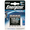 ENERGIZER Ultimate Lithium AAAelem, 4 db