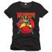 """Marvel """"Wolverine"""" póló, fekete"""