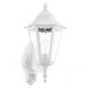 EGLO 93447 - Kültéri Fali lámpa érzékelővel NAVEDO 1xE27/60W/230V
