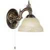 EGLO 85859 - MARBELLA fali lámpa 1xE14/40W bronz