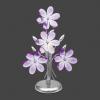 GLOBO 5146 - PURPLE asztali lámpa 1xE14/40W