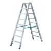 KRAUSE STABILO két oldalon járható lépcsőfokos állólétra  2x8 fokos (kék) 124760