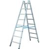 KRAUSE STABILO két oldalon járható biztonsági állólétra  2x8 fokos (kék) 124920