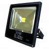 Art External lamp LED 30W, SLIM, IP66,AC80-265V,black, 3000K-warm white