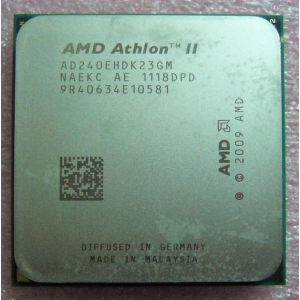 AMD Athlon II X2 240e dual core socket AM3 2.8GHz 2MB L2 cache 45W tray