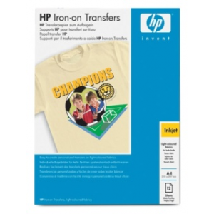 HP iron-on transfers papír | 170g | A4 | 12 lap