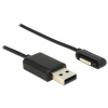 DELOCK Charging cable USB male > Sony magnet connector 1 m