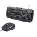 Gembird Gamer csomag: gaming billentyűzet USB + optikai gamer egér 3600 DPI, USB