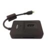 Ednet OTG USB 2.0 Hub & Card Reader for Smartphones and Tablets black color