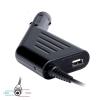 Digitalbox autós tápegység 19V/4.74A 90W csatlakozóval 5.5x2.5mm ToshibaAcer|USB