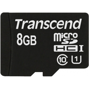 Transcend memory card Micro SDHC 8GB UHS-I 300x