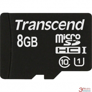 Transcend memory card Micro SDHC 8GB UHS-I 600x
