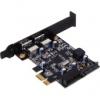 Silverstone EC04-E USB 3.0 Bõvítõkártya