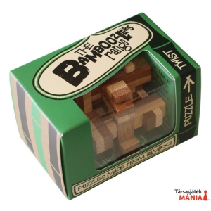 Professor Puzzle Twist mini Professor Puzzle bambusz ördöglakat