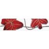 Zalakerámia America 2502-0729 piros 25,2x6,5 cm listello