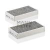 MANN FILTER CUK2646-2 Aktívszenes Pollenszűrő MERCEDES GL, M, R