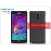 Nillkin Samsung SM-N910 Galaxy Note 4 hátlap képernyővédő fóliával - Nillkin Frosted Shield - fekete
