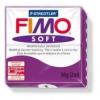 Gyurma, 56 g, égethető, FIMO Soft, bíborlila
