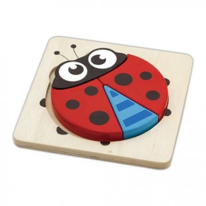Magasított puzzle (katica)
