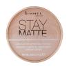 Rimmel London Stay Matte Long Lasting Pressed Powder Női dekoratív kozmetikum 002 Pink Blossom Smink 14g