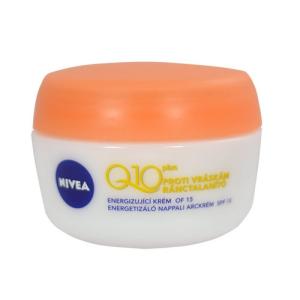 Nivea Q10 Plus Energy Day Care Női dekoratív kozmetikum A ráncok látható csökkentésére Nappali krém minden bőrtípusra 50ml
