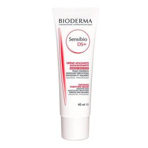 Bioderma Sensibio DS + Soothing Cream Női dekoratív kozmetikum Seborrheás és Irritált arcbőrre Nappali krém száraz bőrre 40ml