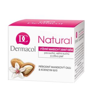 Dermacol Natural Almond Day Cream Női dekoratív kozmetikum tuba Nappali krém száraz bőrre 50ml