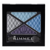 Rimmel London Glam Eyes Quad Eye Shadow Női dekoratív kozmetikum 016 Urban Flower Szemhéjfesték 4,2g