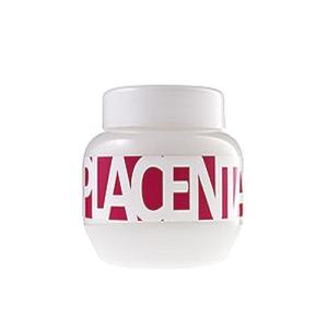 Kallos Placenta Hair Mask Női dekoratív kozmetikum Maszk száraz és sérült hajra Hajmaszk 275ml