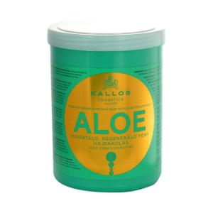 Kallos Aloe Vera Moisture Repair Shine Hair Mask Női dekoratív kozmetikum sérült hajra Hajmaszk 1000ml