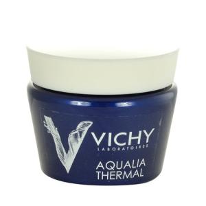 Vichy Aqualia Thermal Night Spa Gel Cream Női dekoratív kozmetikum A fáradás jelei ellen Éjszakai krém minden bőrtípusra 75ml