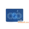 Modecom Logic LCP-09 univerzális notebook hűtőpad Blue