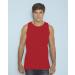 GILDAN ujjatlan férfi póló, piros (Gildan ujjatlan férfi póló, piros)