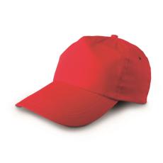 Twill baseballsapka, piros (Twill baseballsapka, piros)