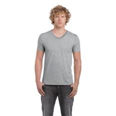 GILDAN V. nyakú férfi póló, sportszürke (Gildan V. nyakú férfi póló, sportszürke)