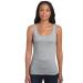 GILDAN női ujjatlan póló, sportszürke (Gildan női ujjatlan póló, sportszürke)