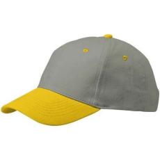 Slazenger GRIP 6 paneles baseball sapka, sárga (GRIP 6 paneles baseball sapka, sárga)