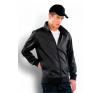 KARIBAN széldzseki, fekete (Kariban széldzseki, fekete) férfi kabát, dzseki