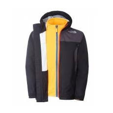 The North Face Kikori Triclimate Fiú Dzseki, XS, Fekete