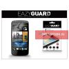 Eazyguard HTC Desire 500 képernyővédő fólia - 2 db/csomag (Crystal/Antireflex HD)