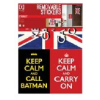 Falimatrica 50x70cm Keep calm and carry on