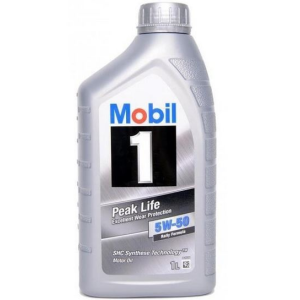 Mobil 1 peak life 5w-50 1 liter