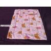 Baba - gyermek ágynemű 2 részes pamut rózsaszínű