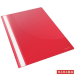 Gyorsfűző, PP, A4, ESSELTE Standard, piros 25db/csomag