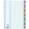Regiszter, laminált karton, A4, 1-31, ESSELTE Mylar