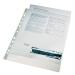 Genotherm, lefűzhető, A4, 105 mikron, víztiszta felület, ESSELTE Luxus 100db/csomag