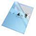 Genotherm, L, A4, 105 mikron, narancsos felület, ESSELTE Standard, kék 25db/csomag